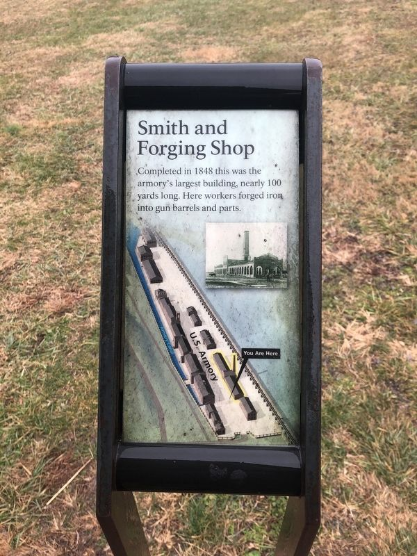 Smith and Forging Shop Marker image. Click for full size.