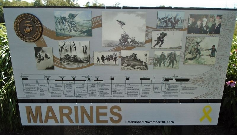 Marines Marker image. Click for full size.