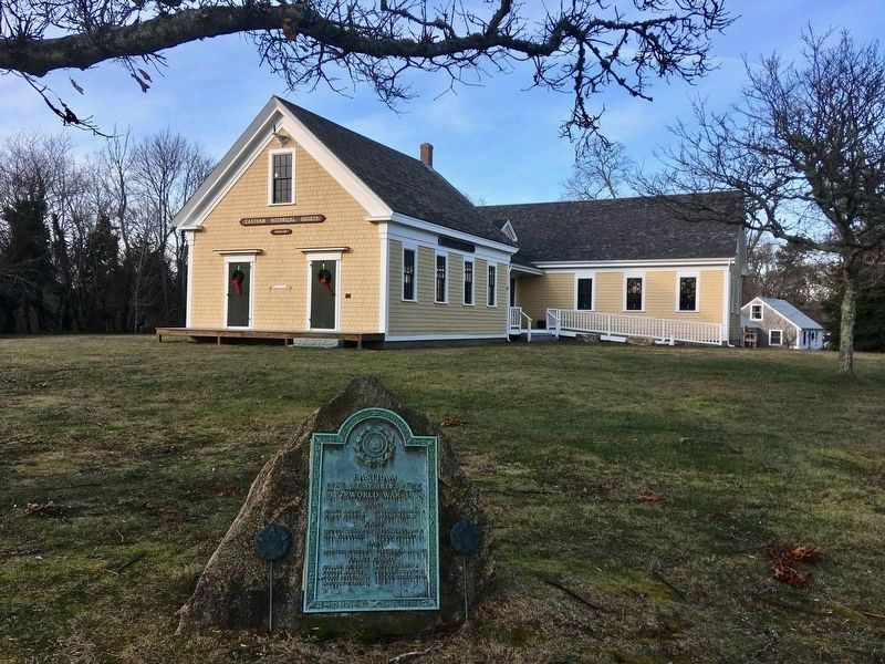 This building was the Eastham's School House that opened in 1869. It is now home of the Eastham Hi image. Click for full size.