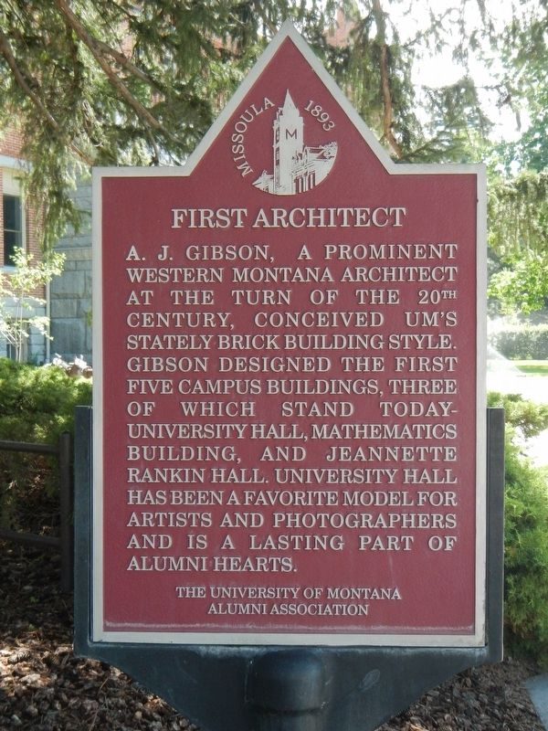 First Architect Marker image. Click for full size.