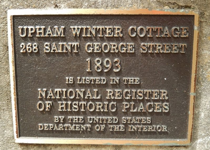 Upham Winter Cottage Marker image. Click for full size.