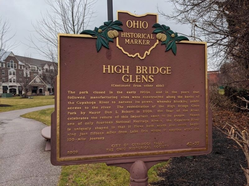 High Bridge Glens Marker image. Click for full size.