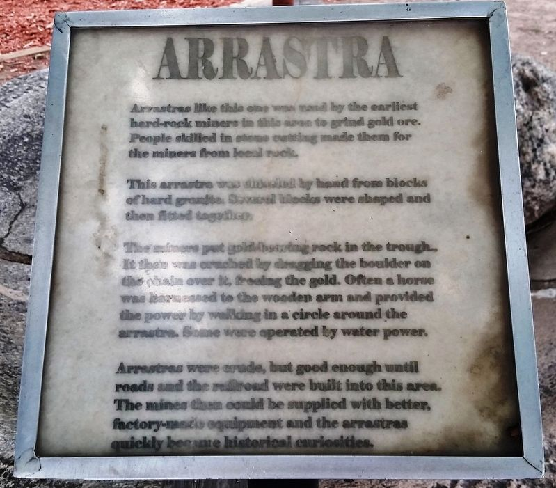 Arrastra Marker image. Click for full size.