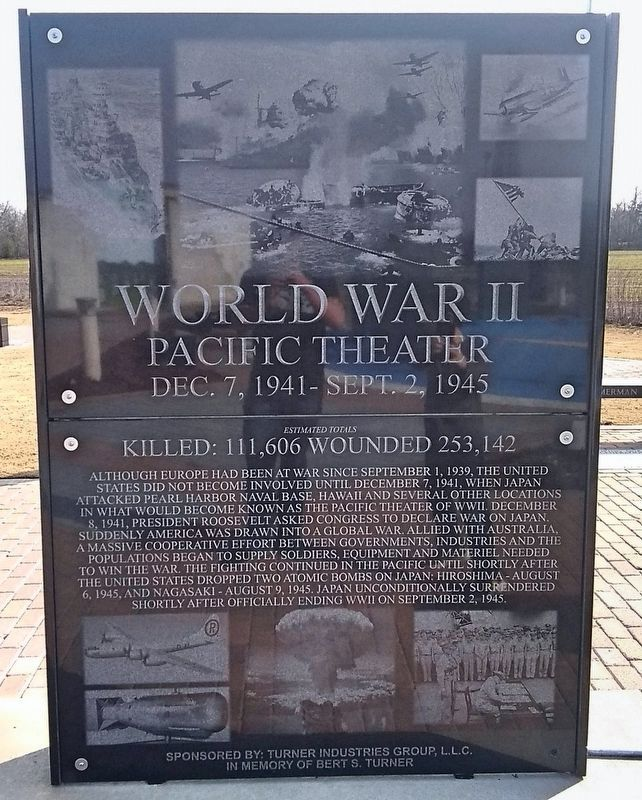 World War II Pacific Theater Memorial image. Click for full size.