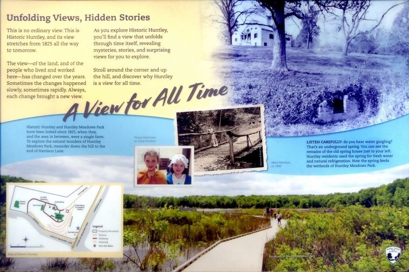 Unfolding Views, Hidden Stories Marker image. Click for full size.