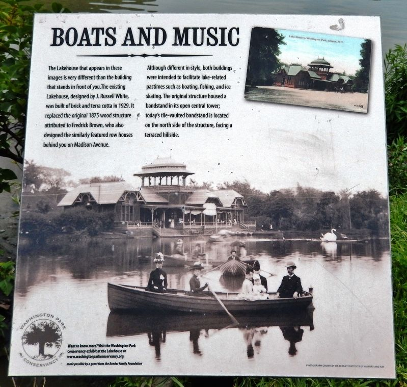 Boats and Music Marker image. Click for full size.
