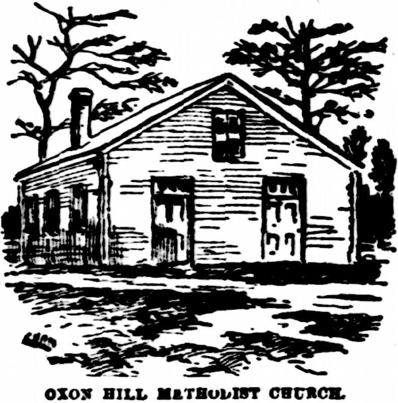 Oxon Hill Methodist Episcopal Church image. Click for full size.