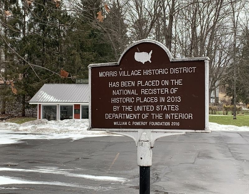 Morris Village Historic District Marker image. Click for full size.