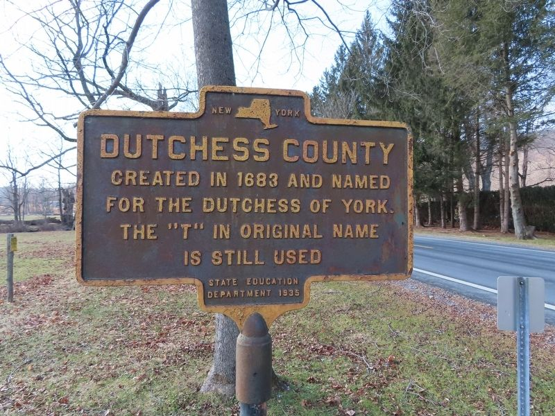 Dutchess County Marker image. Click for full size.