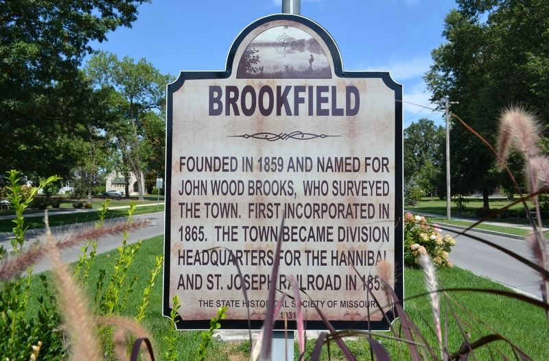 Brookfield Marker image, Touch for more information