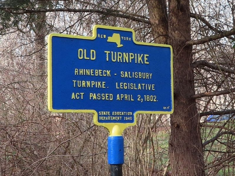 Old Turnpike Marker image. Click for full size.
