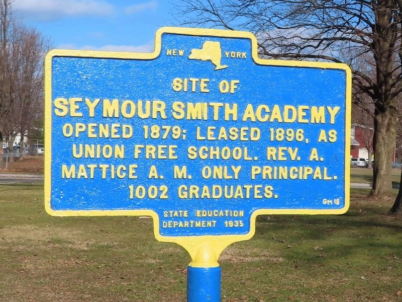 Seymour Smith Academy Marker image. Click for full size.