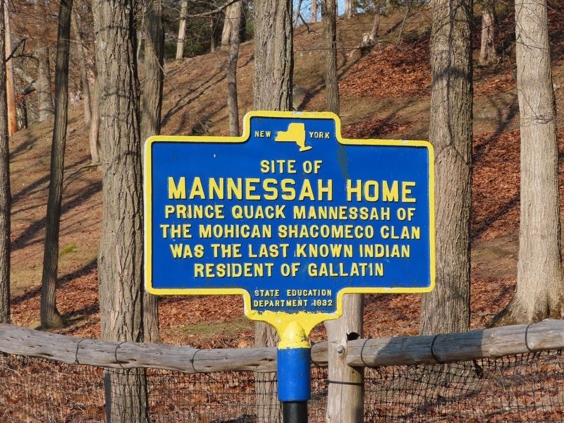 Mannessah Home Marker image. Click for full size.