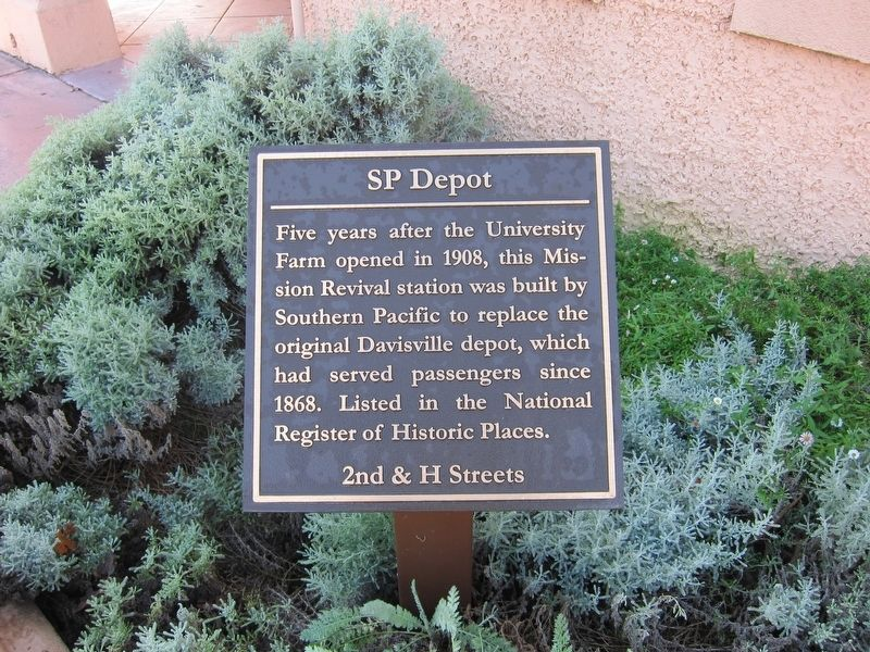 SP Depot Marker image. Click for full size.