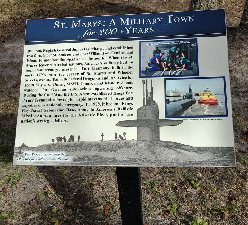 A Military Town Marker image. Click for full size.