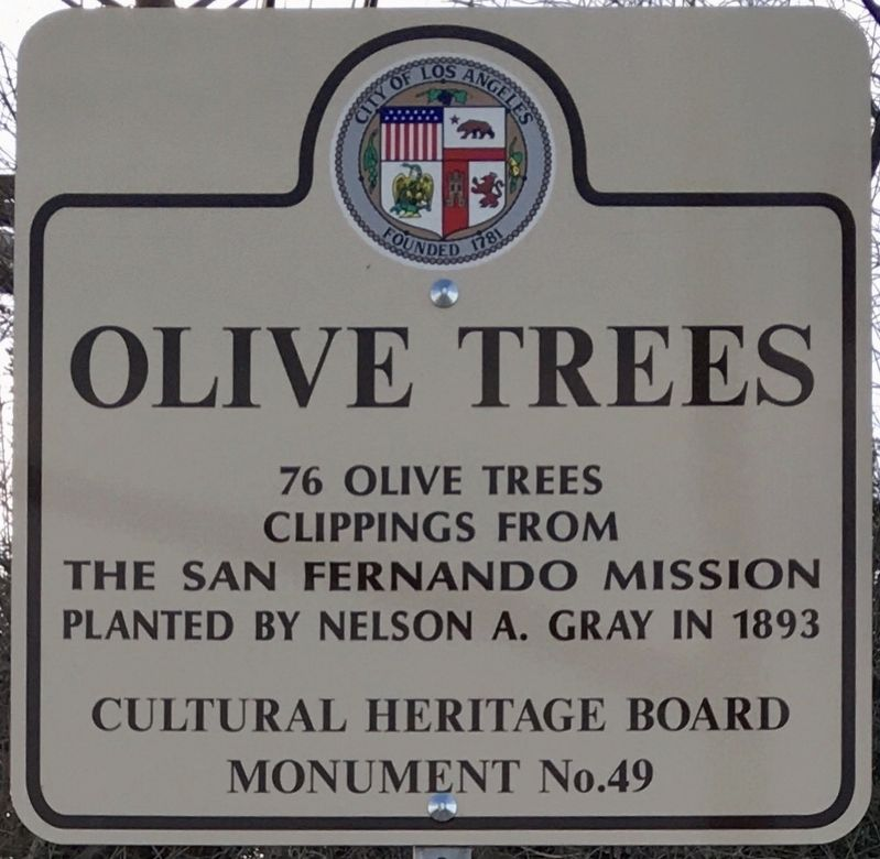 Olive Trees Marker image. Click for full size.