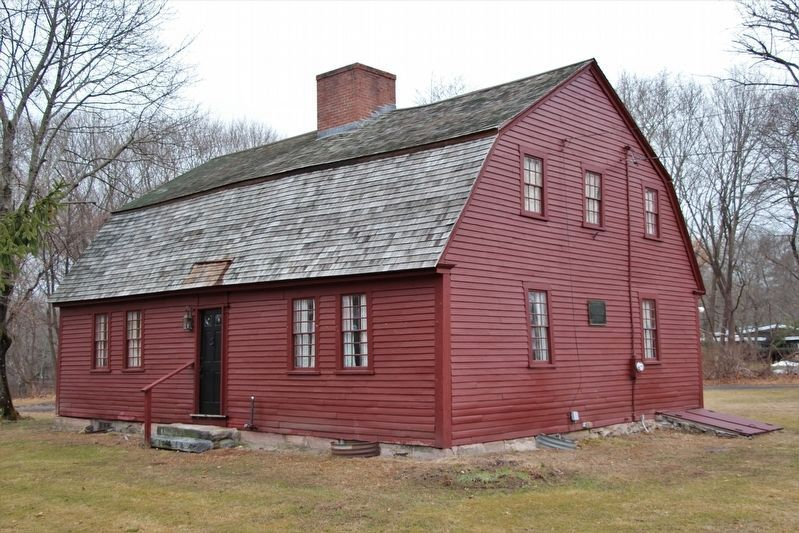 The Oldest House in Uxbridge image. Click for full size.