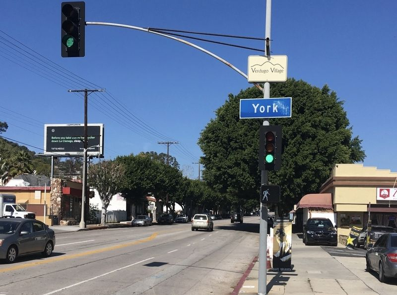 Verdugo Village Sign image. Click for full size.