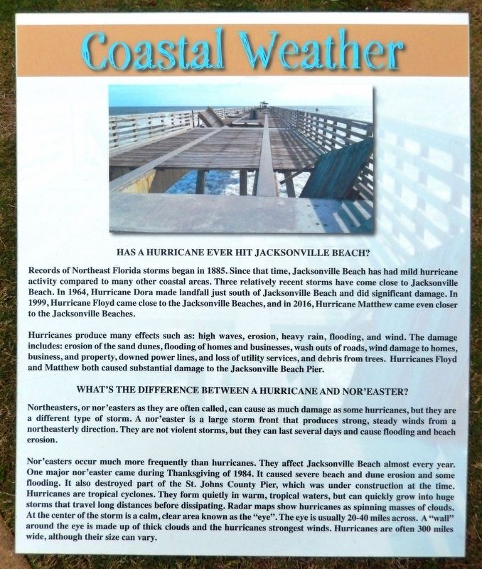 Coastal Weather Marker image. Click for full size.