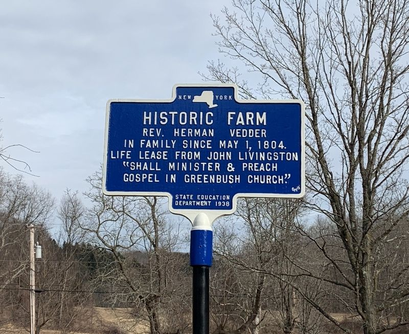 Historic Farm Marker image. Click for full size.