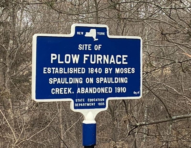 Plow Furnace Marker image. Click for full size.