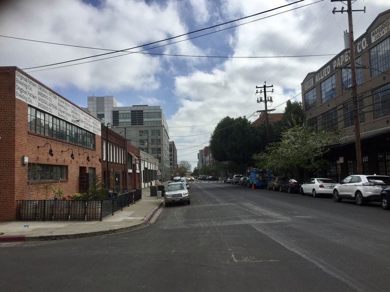 Fourth Street, taken from the marker site, looking south(ish) image. Click for full size.
