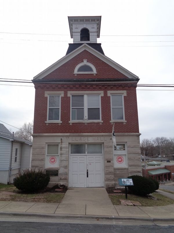 Village Hall & Firehouse image. Click for full size.