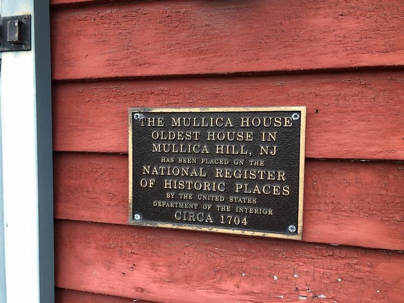 The Mullica House Marker image. Click for full size.