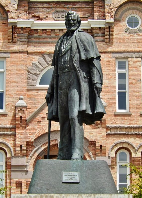 Brigham Young Statue image. Click for full size.
