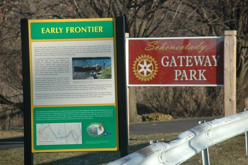 Early Frontier Marker image. Click for full size.