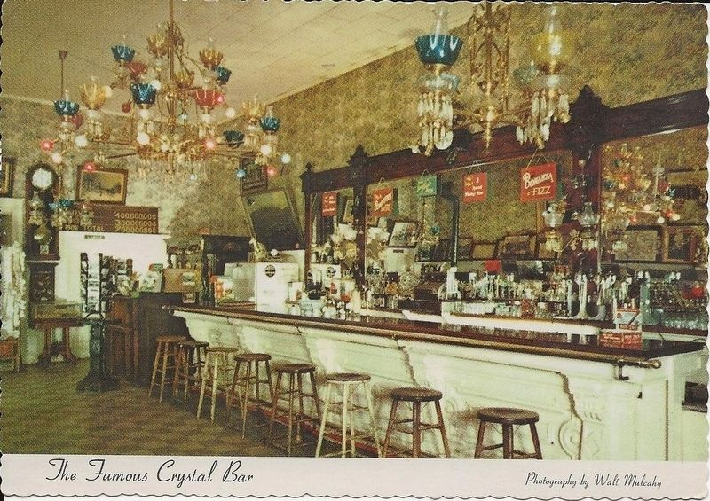 Crystal Bar Post Card image. Click for full size.