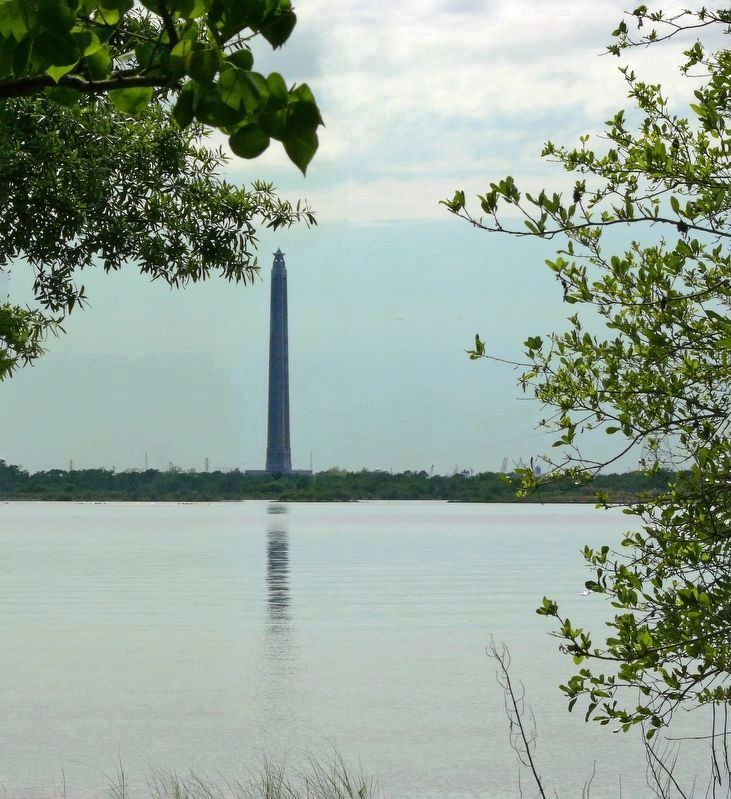 San Jacinto Monument from Baytown image. Click for full size.