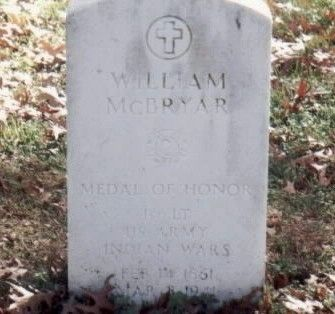 Lt William McBryar, Buffalo Soldier Grave Marker image. Click for full size.