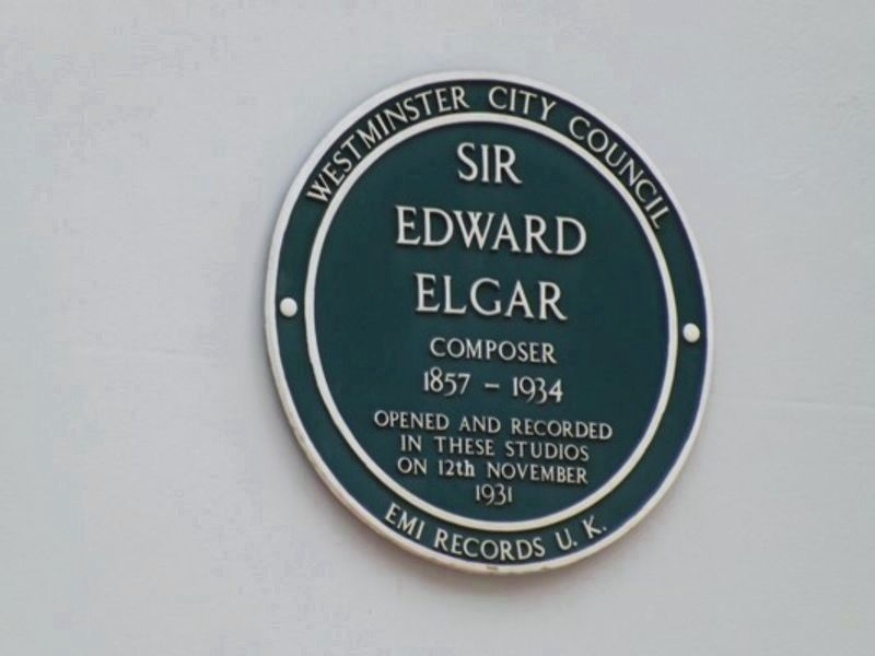 Sir Edward Elgar, Composer image. Click for full size.