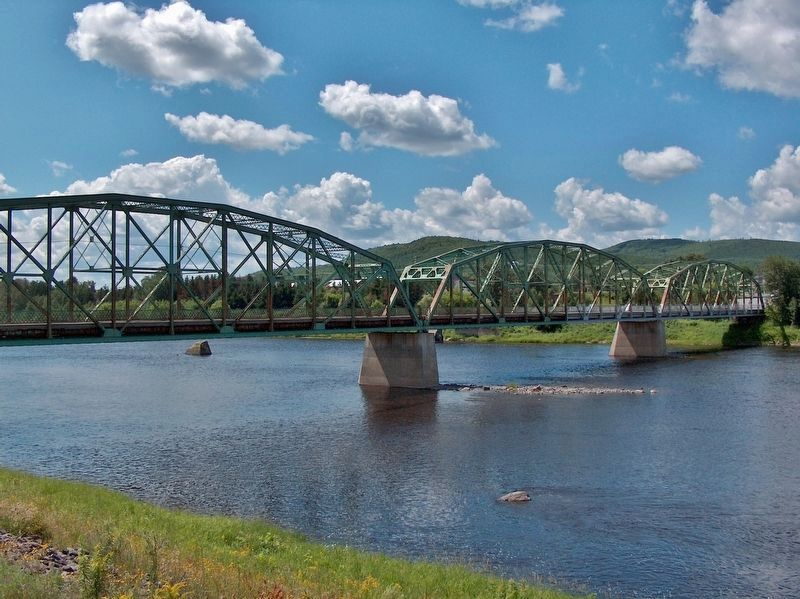 Old Steel Truss Clair-Kent International Bridge image. Click for full size.