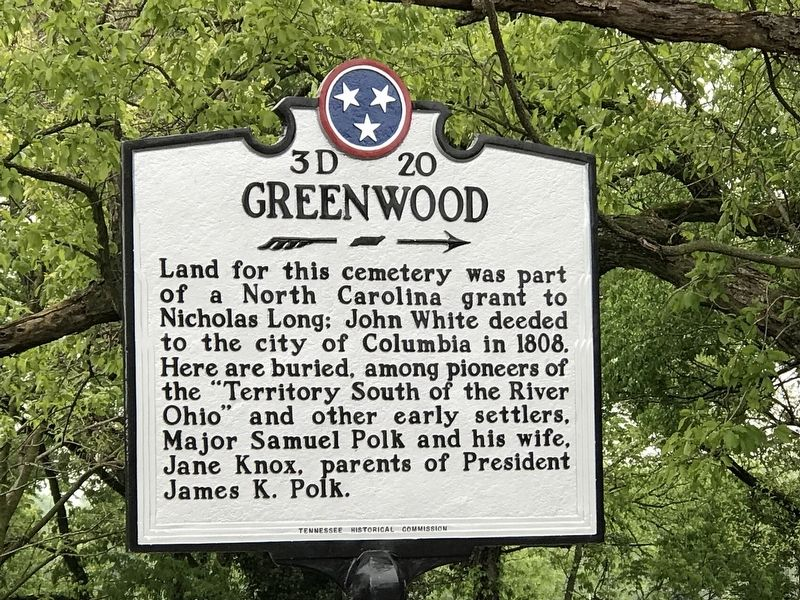 Greenwood Marker image. Click for full size.