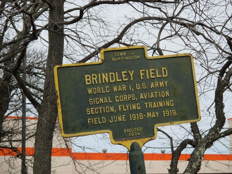 Brindley Field Marker image. Click for full size.