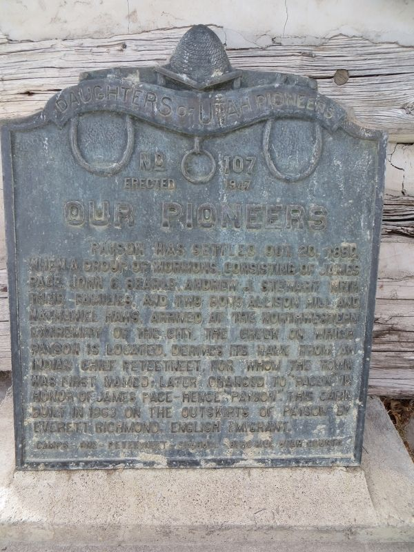 Our Pioneers Marker image. Click for full size.