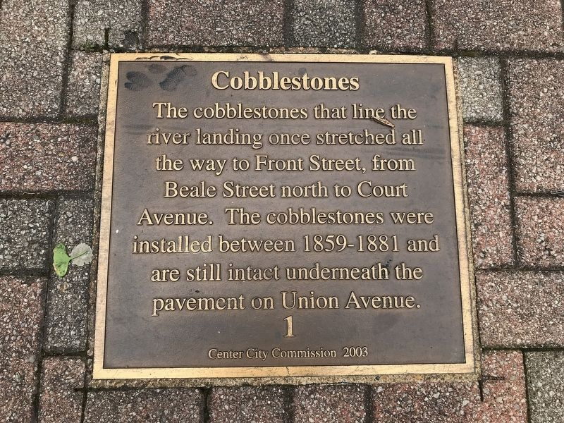 Cobblestones Marker image. Click for full size.