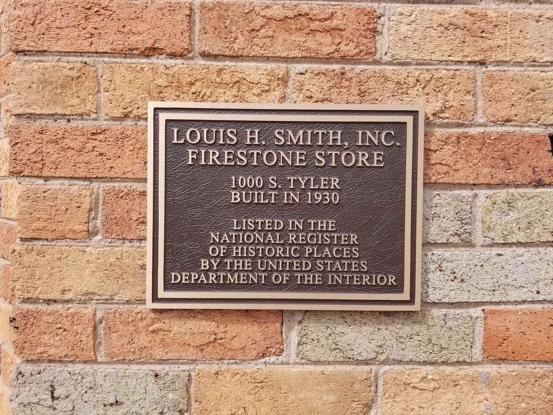 Louis H. Smith, Inc. Firestone Store Marker image. Click for full size.