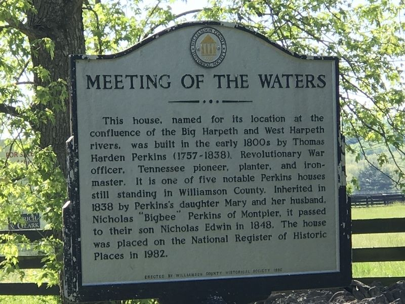 Meeting of the Waters Marker image. Click for full size.