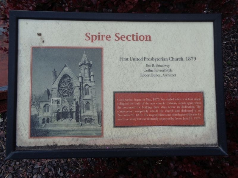 Spire Section Marker image. Click for full size.