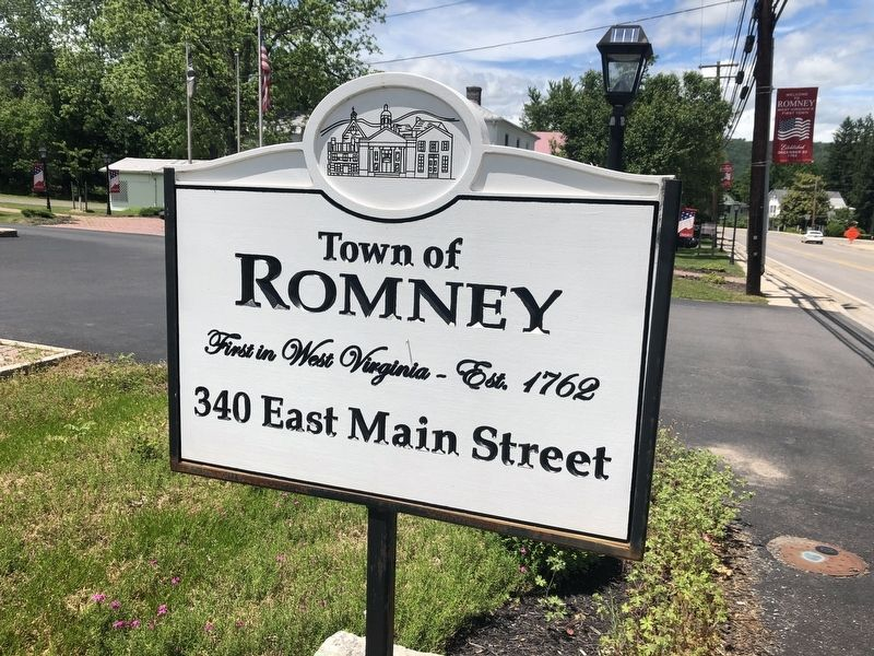 Town of Romney Marker image. Click for full size.