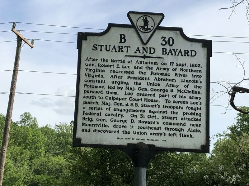 Stuart and Bayard Marker image. Click for full size.