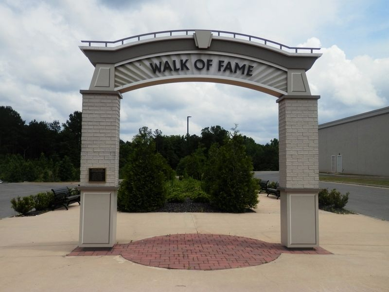 Grambling Walk of Fame/Legends Square image. Click for full size.