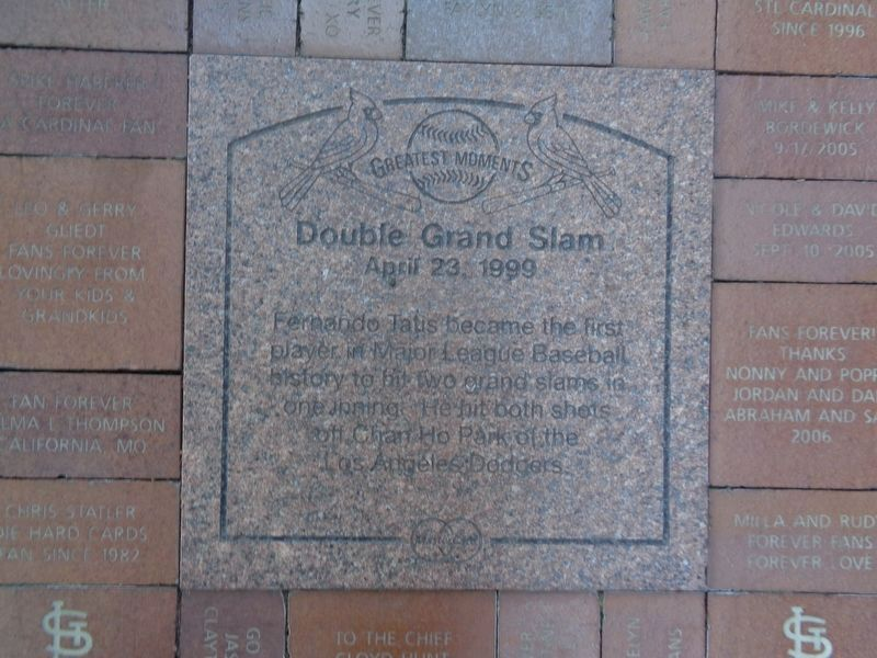 Double Grand Slam Marker image. Click for full size.