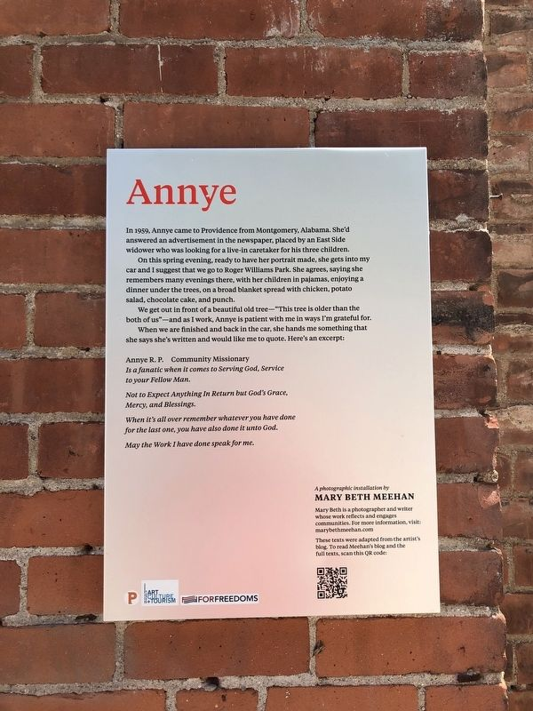 Annye Marker image. Click for full size.