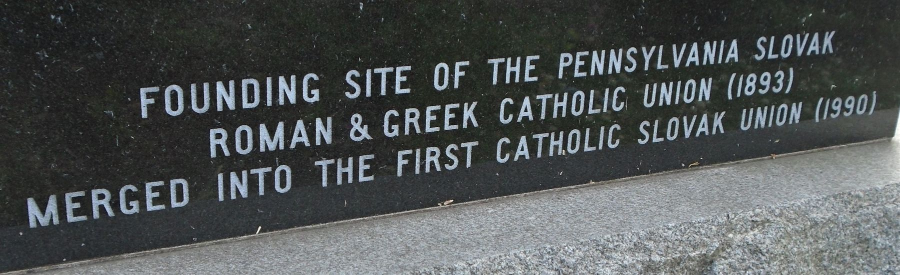 Detail on St. John the Baptist Church Marker image. Click for full size.