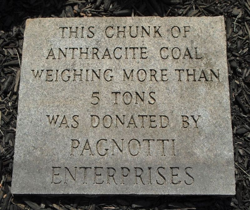 Anthracite Coal Marker image. Click for full size.