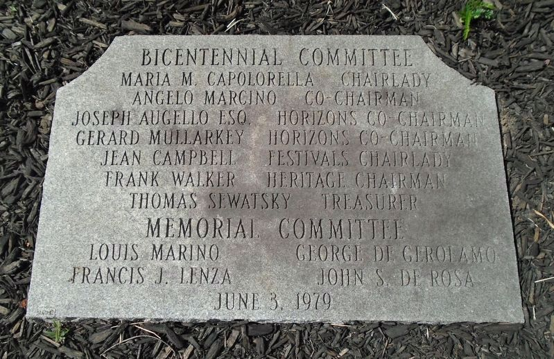 Pittston Bicentennial Committee Marker image. Click for full size.